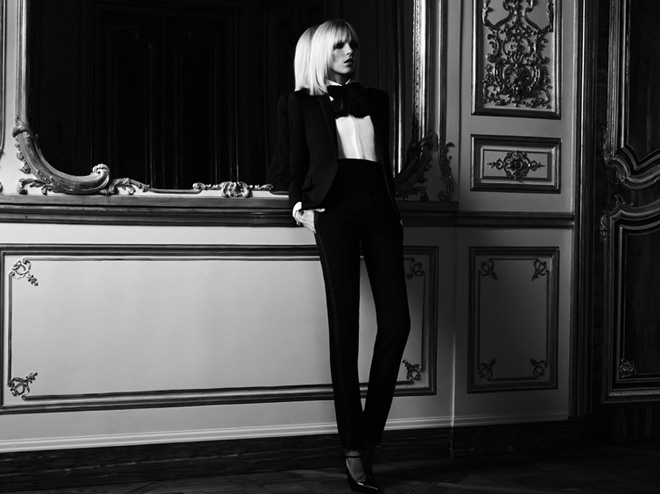 Saint Laurent Paris SS13 Campaign Unveiled