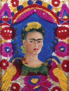Frida Kahlo, The Frame, 1938