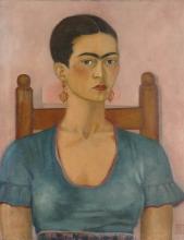 Frida Kahlo, Self-Portrait, 1930
