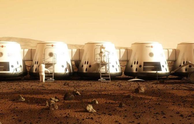 WE World: New residence in Mars is possible?