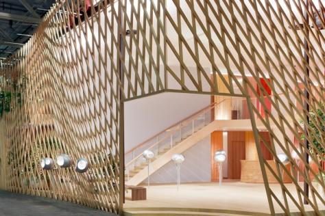 Hermes Baselworld Pavilion_Entrance