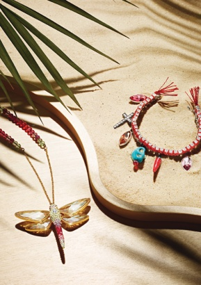 WE Desire: Swarovski's Tropical Paradise