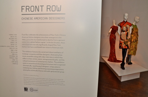 First Row: Chinese American Designers