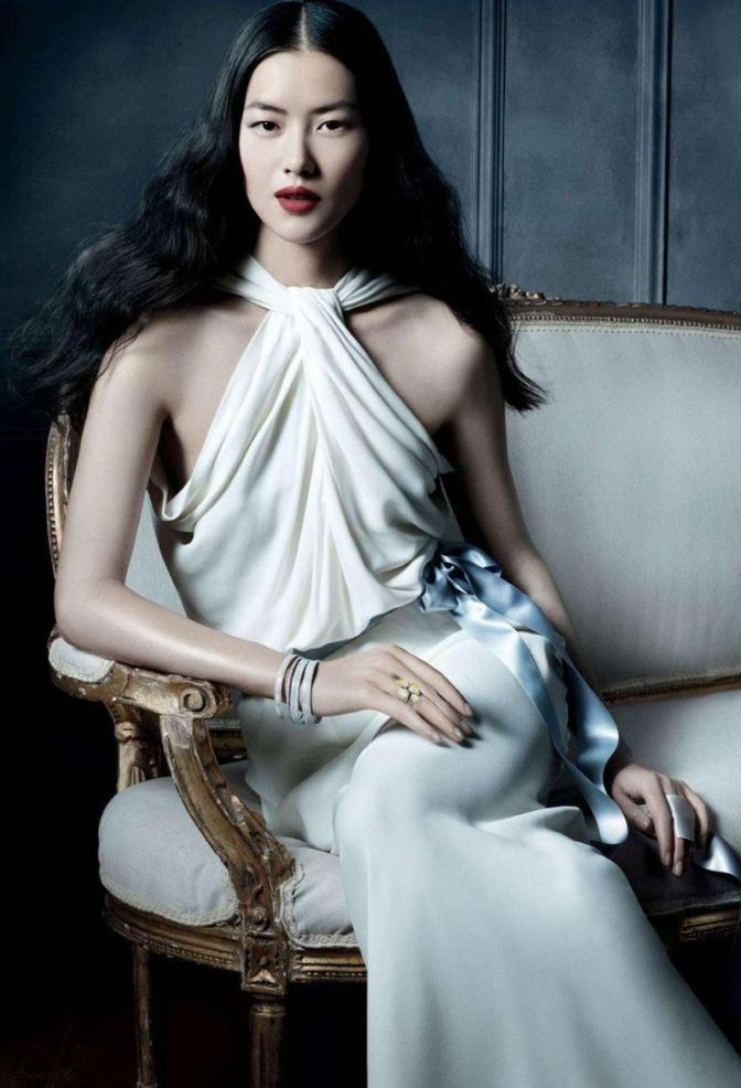 WE Muse: Liu Wen for Tiffany & Co. campaign
