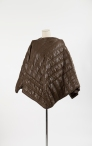 Yeohlee Teng, Zero Waste Cape, Fall 2008, photograph courtesy of Museum of Chinese in America