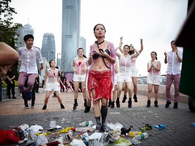 Art Basel | Hong Kong 2013 | Paper Rain Parade