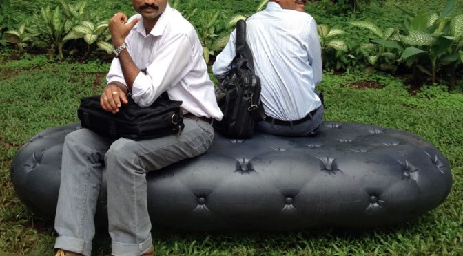 WE Select: Water Bench changes the cityscape of Mumbai