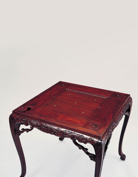 A square game table made of huanghuali Northern China • 18th Century