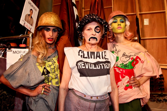 WE Ethical: VIVIENNE WESTWOOD, the climate heroine