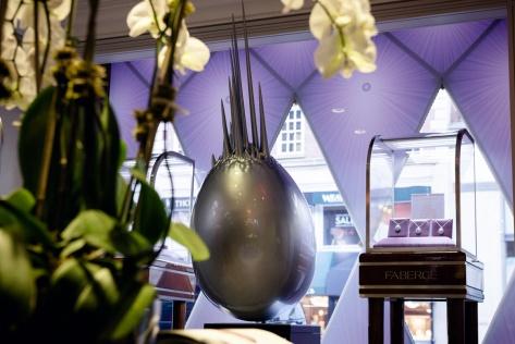 Zaha Hadid Egg Sculpture at Fabergé 2