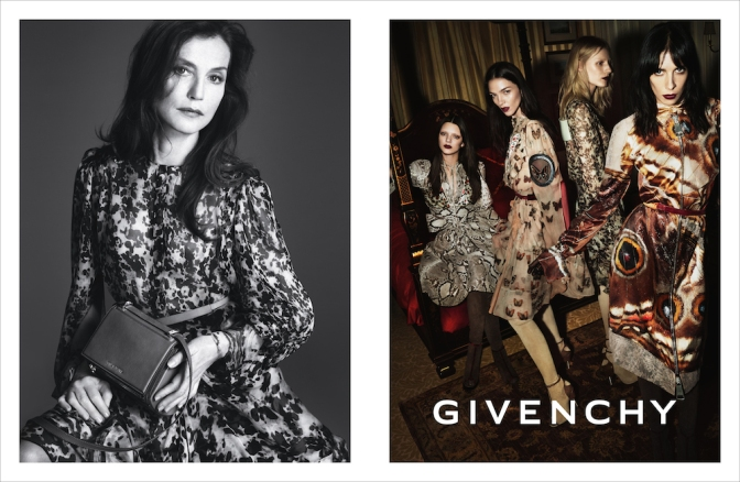 WE Chronicle: GIVENCHY Winter 2014/15 Campaign